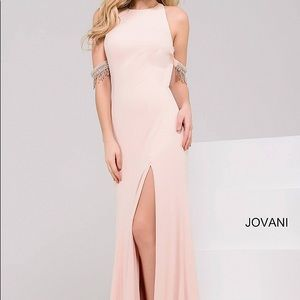 Pink Jovani Evening Gown
